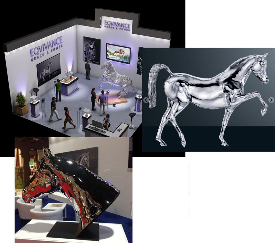 Interieur Design in dreidimensionaler Skulptur - 2014-11 ...