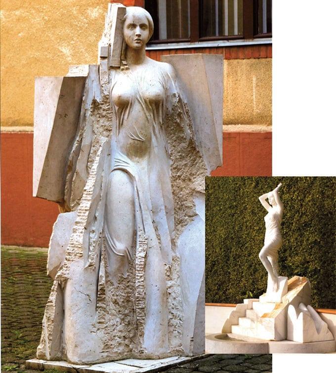 Messe-und Event Objekte groß XXL lebensgroß riesig gigantisch Eventobjekte Messeobjekte, BMW CleanEnergy überreicht Bob Geldorf den 3D-Award on Calcit, 3D Culture erarbeitet Geschenk für Berliner Filmfestspiele, extrem große 3D-Drucke in Farbe,