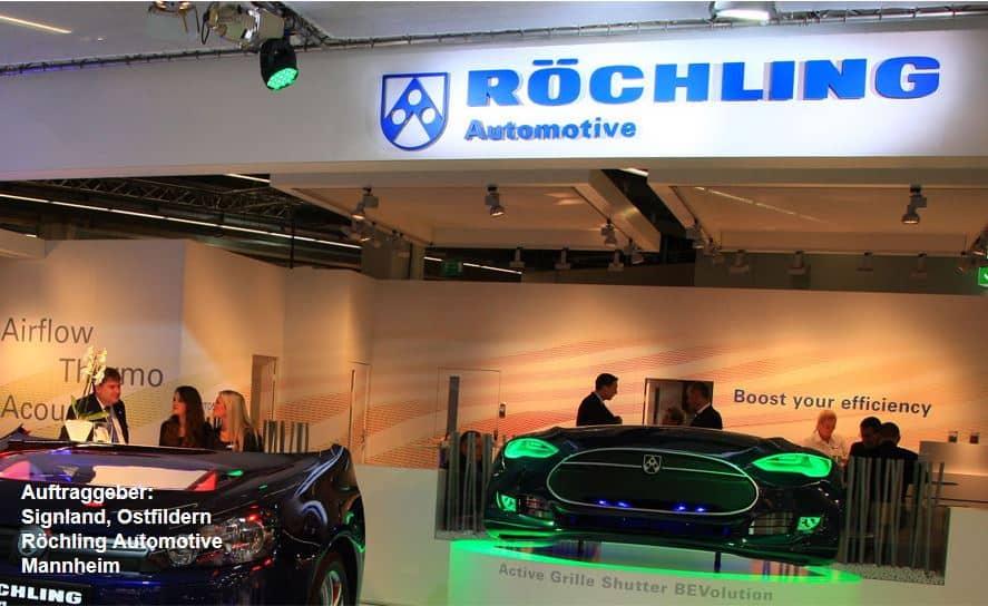 """3D Culture stellt wichtige Fahrzeugteile der Firma Röchling Automotive auf der IAA vor 3D-Druck, Tesla einziger Hersteller, der einen """"emissionsfreien Seriensportwagen"""" in goßen Stückzahlen verkauft, 3D Culture unterstützt Tesla"""