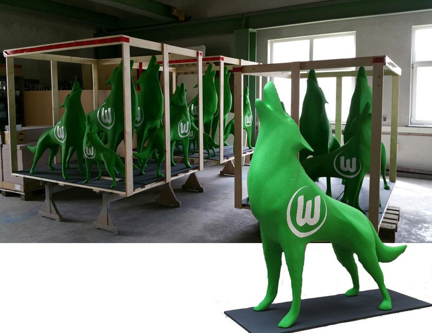 33D-Werbung, Modellbau XXL groß 3D, D Ideen, 3D Figuren, 3D Produktion,3D-Roboter 3D-xxl-Druck große Figuren