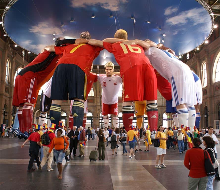 fußball weltmeisterschaft 2018 3D Culture, 3D Culture scannt Philipp Lahm Bayern München 3D-DruckerMesse-und Event Objekte groß XXL lebensgroß riesig gigantisch Eventobjekte Messeobjekte,