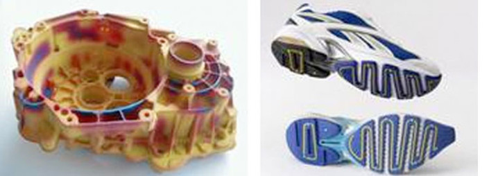 Figur lebensgroß groß xxl 3D-Druck-Roboter dreidimensional 3d Event Messe Ausstellung 3D Culture, 3D-Tierskelette aus 3D-Druck Museum, Künstler gewinnt Wettbewerb mit 3D-Objekten von 3D Culture, 3D-Drucker druckt Auto, Haus aus dem 3D-Drucker,