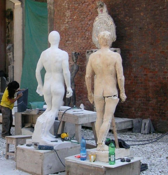 Messestand 3D große lebensgroß xxl Objekte, 3D Culture - das ist eine Kombination aus Tradition und Innovation. Aus Kultur und Hightech.