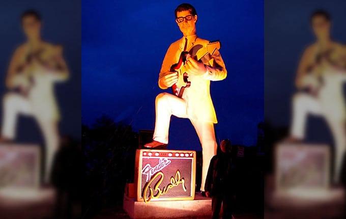 Super Star Buddy Holle aus USA in gigantischer Größe 3D