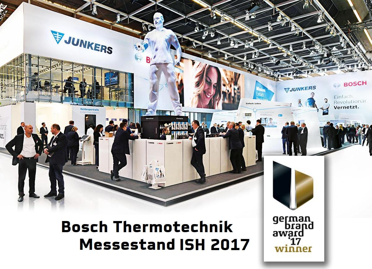 Messe-und Event Objekte groß XXL lebensgroß riesig gigantisch Eventobjekte Messeobjekte, Bosch Messe Award mit gigantischer GfK Figur
